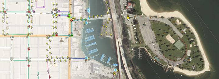 city-beach-map